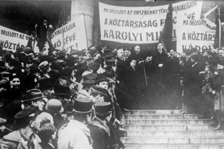 Emlékezés az őszirózsás forradalomra és a Köztársaságra