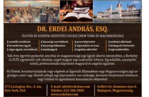 Dr. Erdei András amerikai magyar ügyvéd
