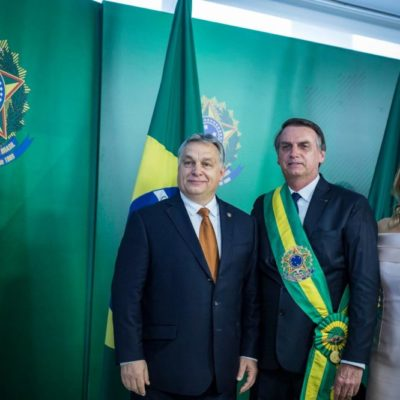 """Orbán célja: """"Világ fasisztái, egyesüljetek!"""""""
