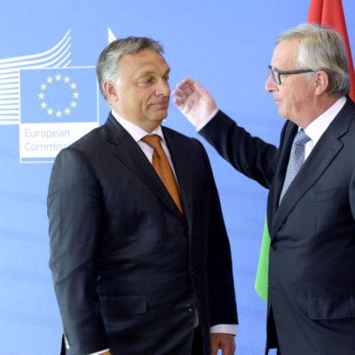 Juncker nem teheti meg, hogy ne utálja Orbánt