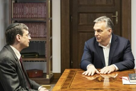 "Orbán izraeli ideológusa szerint ""az Európai Unió a Német Birodalom új formában"""