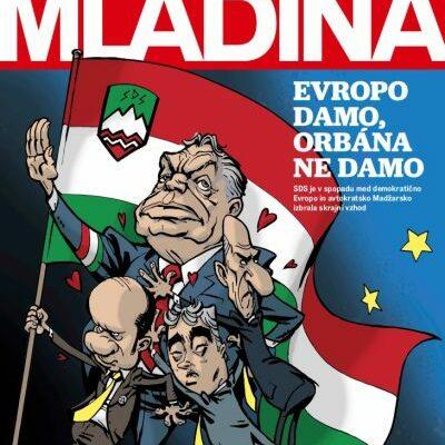 Orbán beavatkozik más országok belügyeibe, ez ellen tiltakoztak a szlovének