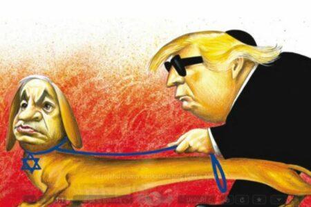 Nem antiszemita a New York Times Netanjahu-Trump karikatúrája