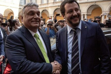 Salvini Orbánnak egyesíti a politikai alvilágot, de Orbán a Néppárt szerepére vágyik