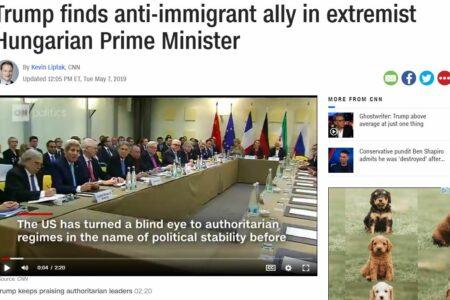 """Vajon az ATV """"CNN-műsora"""" bemutatja-e, hogy a CNN szélsőségesnek és diktátornak nevezte Orbánt?"""