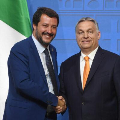 Orbán a fasiszta Európai Egyesült Államok létrehozásán dolgozik