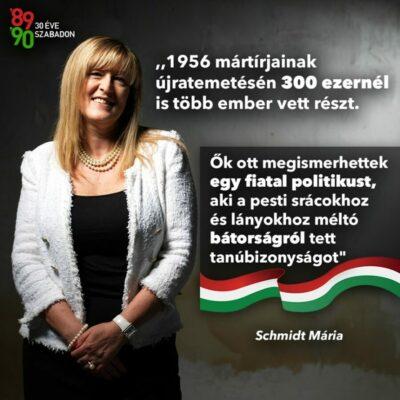 Egyenlőségjel Orbán Viktor és az 56-osok bátorsága között