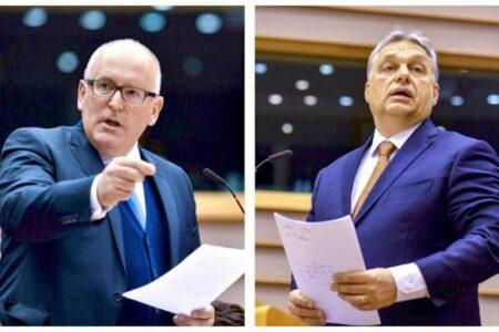 Orbán totális veresége, ha Timmermans lesz az Európai Bizottság elnöke