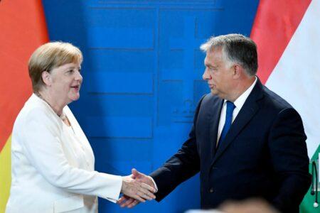 Merkel arra célozgatott, hogy csökkenni fog az EU támogatása