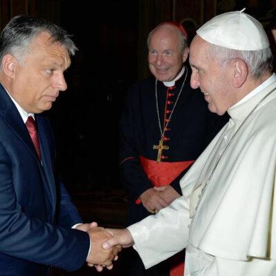 Ferenc pápa felismerte a hasonlóságot Hitler és Orbán között