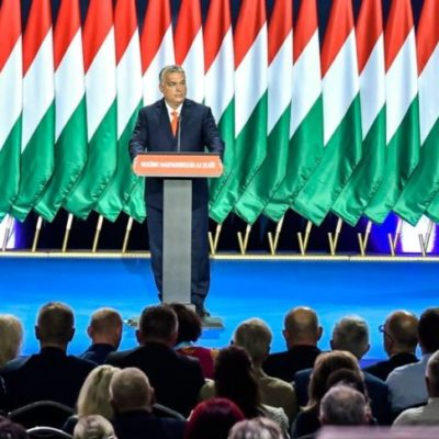 Orbán beképzelt, nagyképű, kirekesztő és hazug beszéde