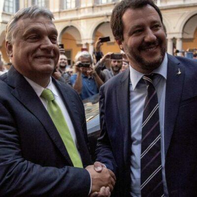 Salvini megmutatja, milyen lenne Orbán ellenzékben