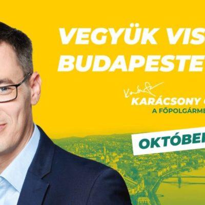 Karácsony Gergely megérett arra, hogy Budapest főpolgármestere legyen