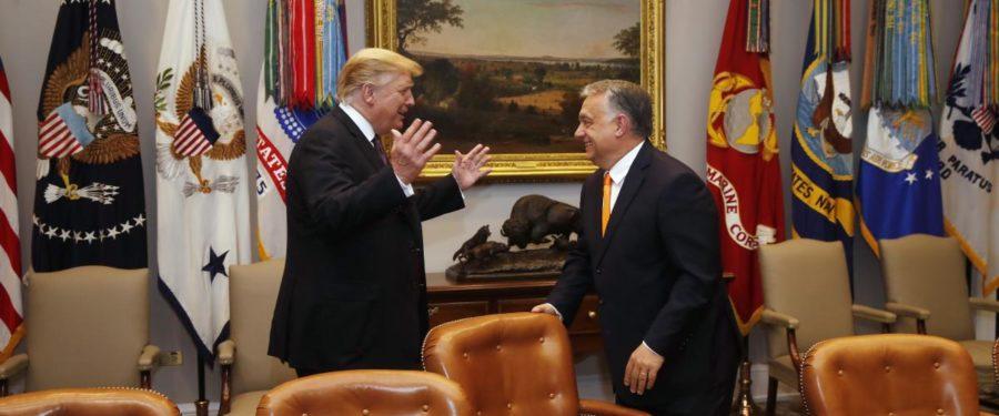 Orbán Putyin oldalán oltogatta Trumpot Ukrajna ellen