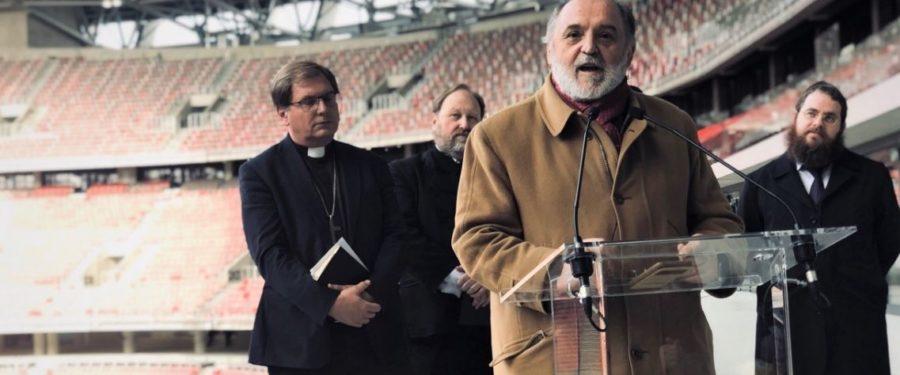 Németh Sándor már a katolikus egyházzal szentel fel objektumot
