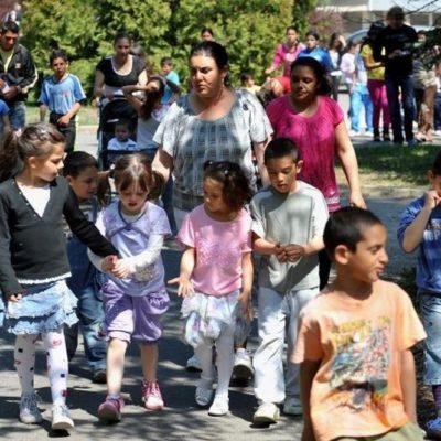 A romagyerekek szétválasztása nácizmus, ennek büntetése jogállami tett