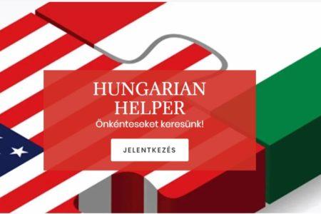 Hungarian Helper az egyedülálló amerikai magyarokért