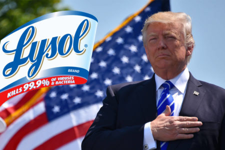 Több amerikai megmérgezte magát Trump tanácsára