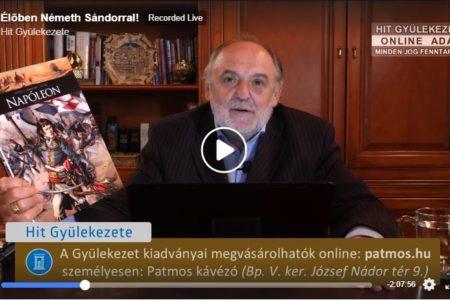 Németh Sándor az ATV után lenyúlta a Hit Gyülekezete könyvkiadását is