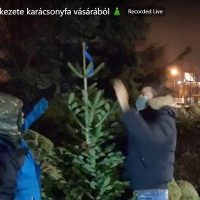 A Hit Gyülekezetében régen tilos volt a karácsonyfa, most Németh Sándor veje árusíthatja a Hit Parkban
