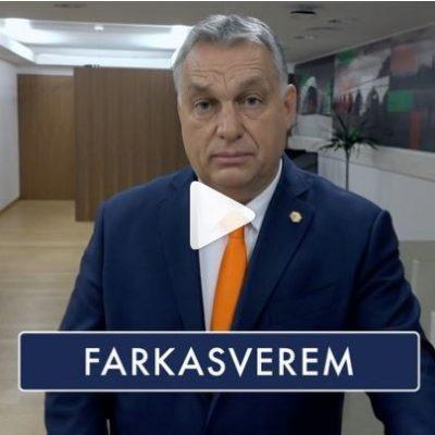 Orbán ugyanúgy nácizza a jogállami Európát, mint Demeter Szilárd