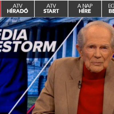 Pat Robertson az ATV-n megprófétálta és Istennek tulajdonította a Capitolium elleni fegyveres támadást