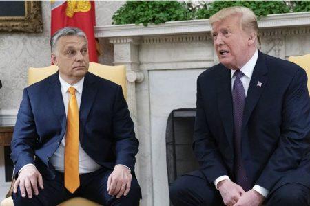 """Aki látta Trumpot, az látta az """"ikertestvérét"""", Orbánt is"""