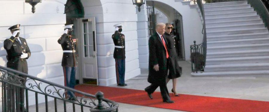 Trump távozott a Fehér Házból, ez a demokrácia diadala