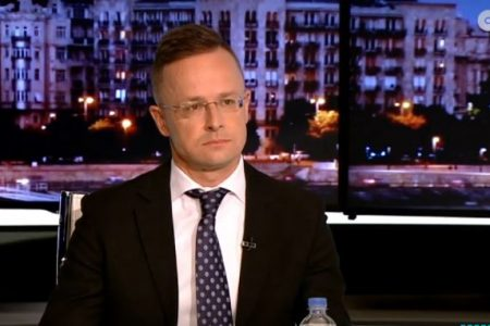 """Már Szijjártó beszél az ATV """"Egyenes beszéd"""" című műsorában"""